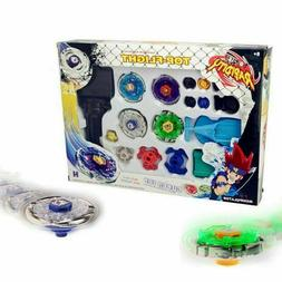 4D Beyblade Set Fusion Top Metal Rapidity Masters Launcher G