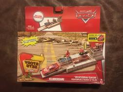 Mattel Disney/Pixar Cars Story Sets Road Wreckin' Play & R