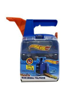 Hot Wheels Action Display Launcher- Holds 6 Cars