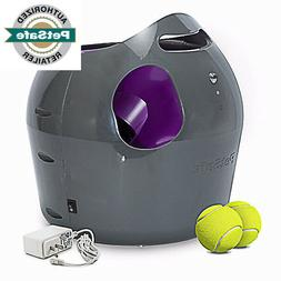 Automatic Tennis Ball Throwing Machine Ball Launcher  Dog To