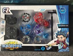 Beyblade Fight Master Top Set Spinning Metal Fusion 4D Launc