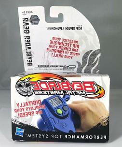 BEYBLADE Metal Masters Electronic Rip Gauge Launcher Blue 20