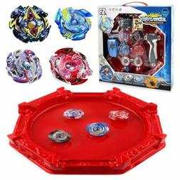 Burst Beyblade Battle Top W/ Grip Launcher Arena Game Starte