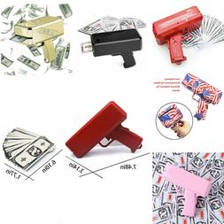 Cash Cannon Money Gun Launcher w/100pcs Fake $1000 Bills Par