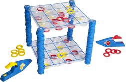 Connect 4 Launchers Board Game Complete Kids Hasbro Checkers