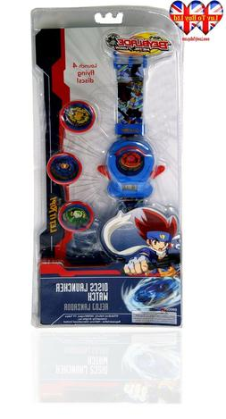 Beyblade Digital Watch,Discs Launcher Watch,Time&Date,Offici