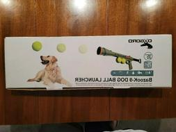 Dog Ball Bazook-9, Tennis ball launcher, Up to 75', W/Should