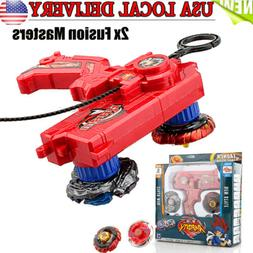 Gift Fusion Metal Master Fight Rapidity 4D Beyblade Hybrid L