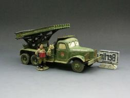 KING & COUNTRY RA14 WWII RED ARMY KATYUSHA ROCKET LAUNCHER S