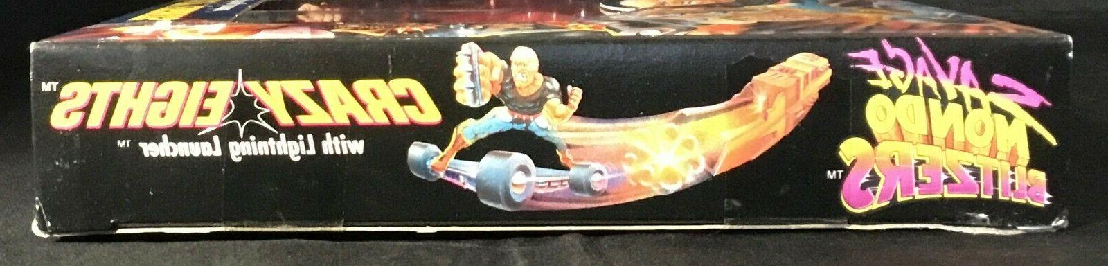 1992 Kenner Savage Mondo Blitzers Crazy w/ Lightning Launcher Sealed