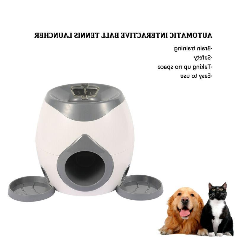 Automatic Interactive Ball Launcher Pet Training
