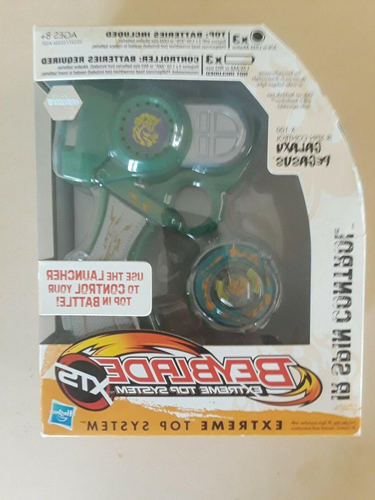 beyblade 2010 xts ir spin control launcher
