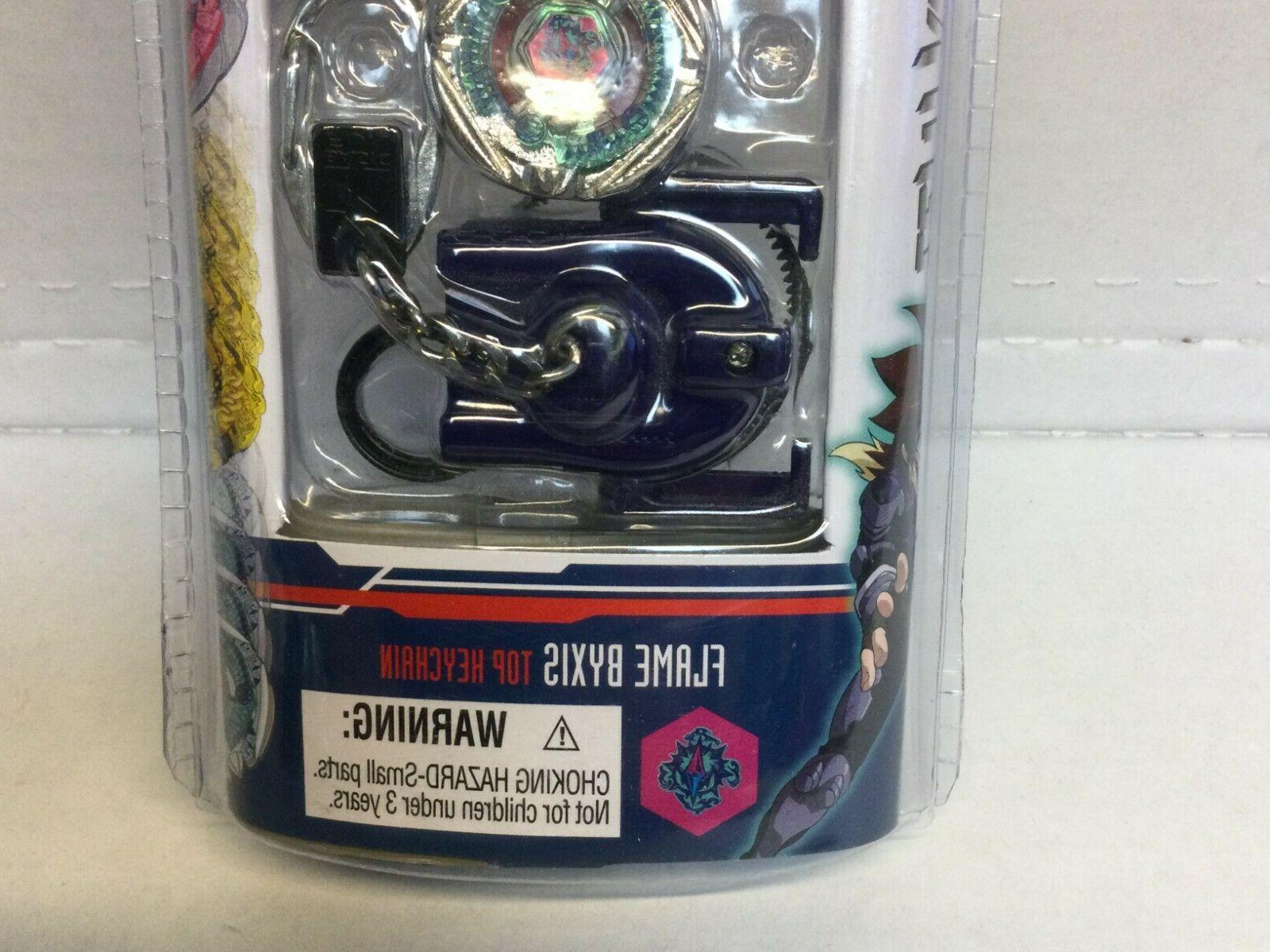Keychain Beyblade Flame Byxis With Launcher Sealed