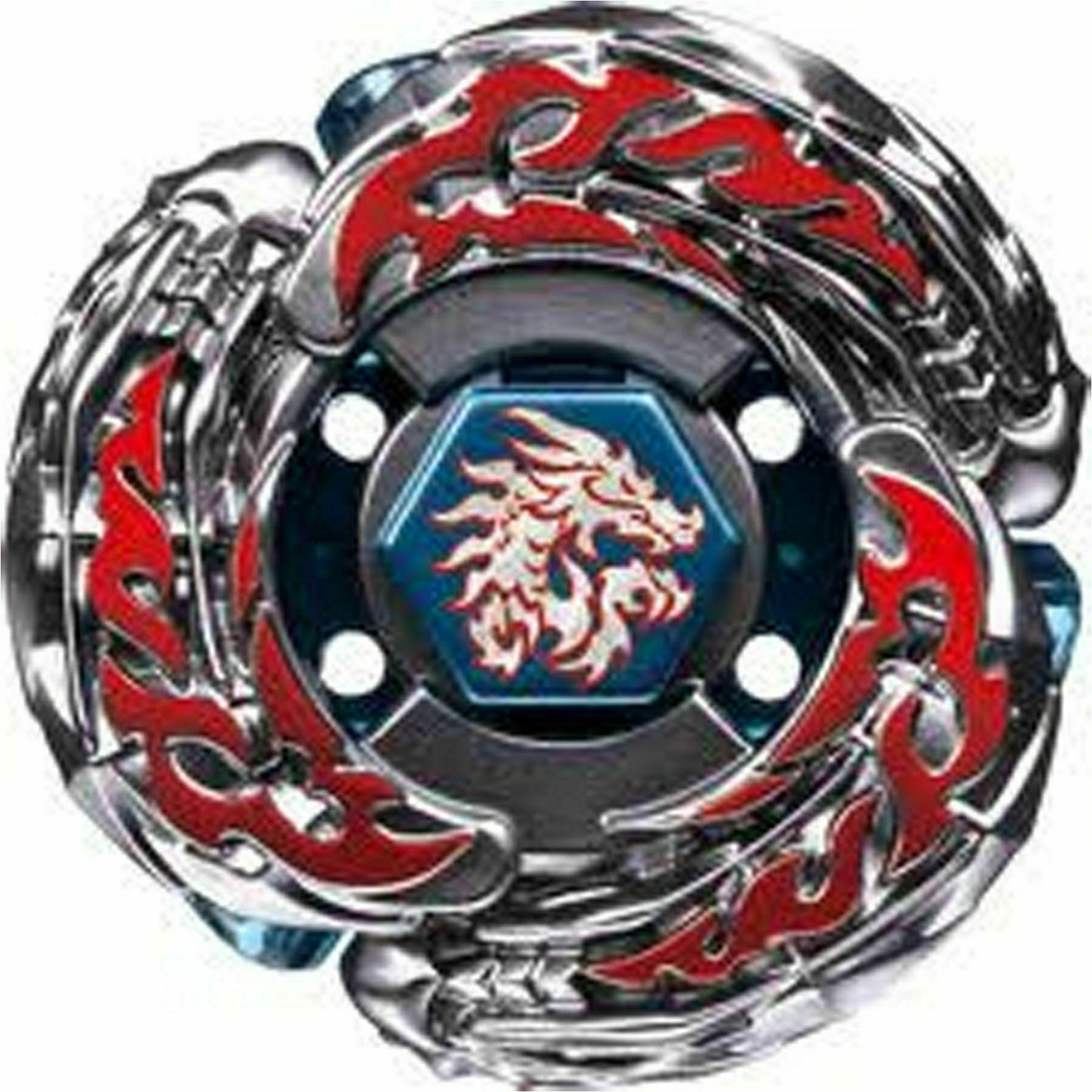 L-Drago Destroy F:S Beyblade 4d STARTER WITH LAUNCHER