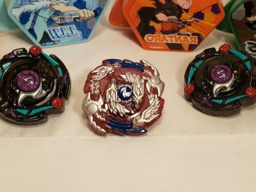 McDONALD'S Happy Meal Toys 2020 Beyblade Lot of Tops