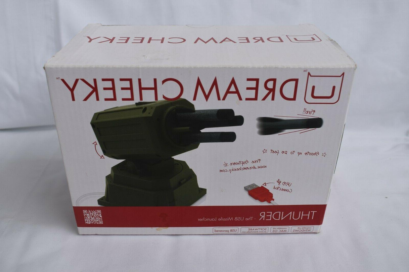 new u thunder usb missile launcher