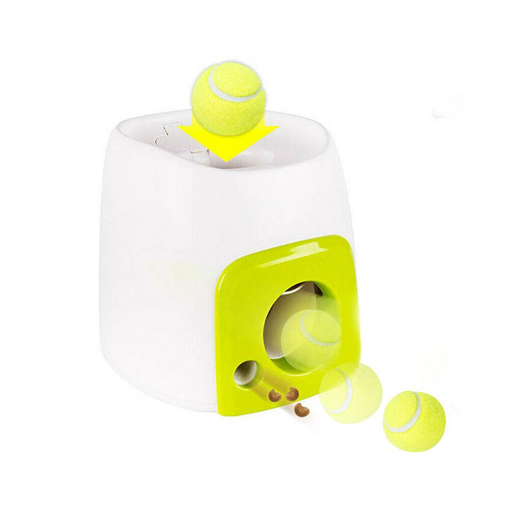 Pet Dog Toy Interactive Training Thrower Automatic Launcher Ball
