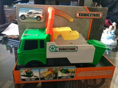 power launcher recycling truck toy new