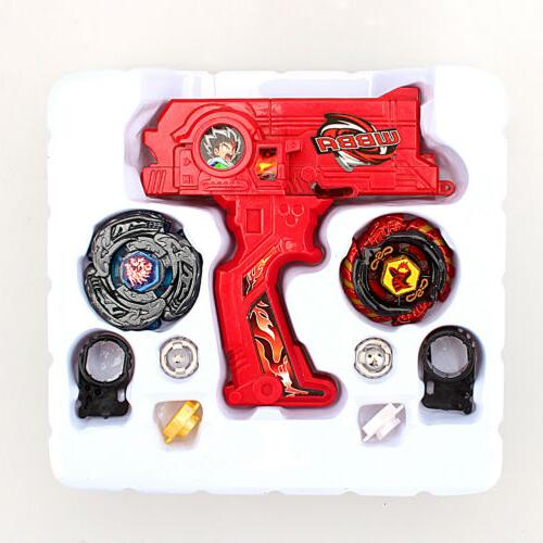 Beyblade Set Fusion Top Metal Rapidity Masters Launcher Grip