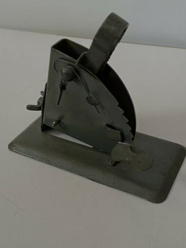 rare antique toy launcher military toy