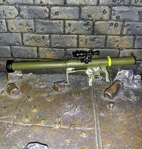 rocket launcher for 1 12 scale 6