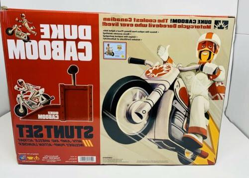 Toy Signature Collection Duke Caboom Playset Launcher Motorcycle