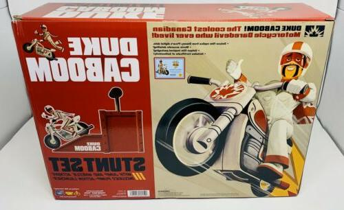 Toy Collection Duke Caboom Playset Launcher Motorcycle