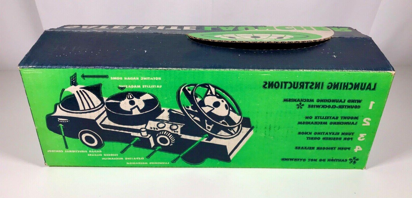 Vintage Launcher Car MIB Old Store Stock