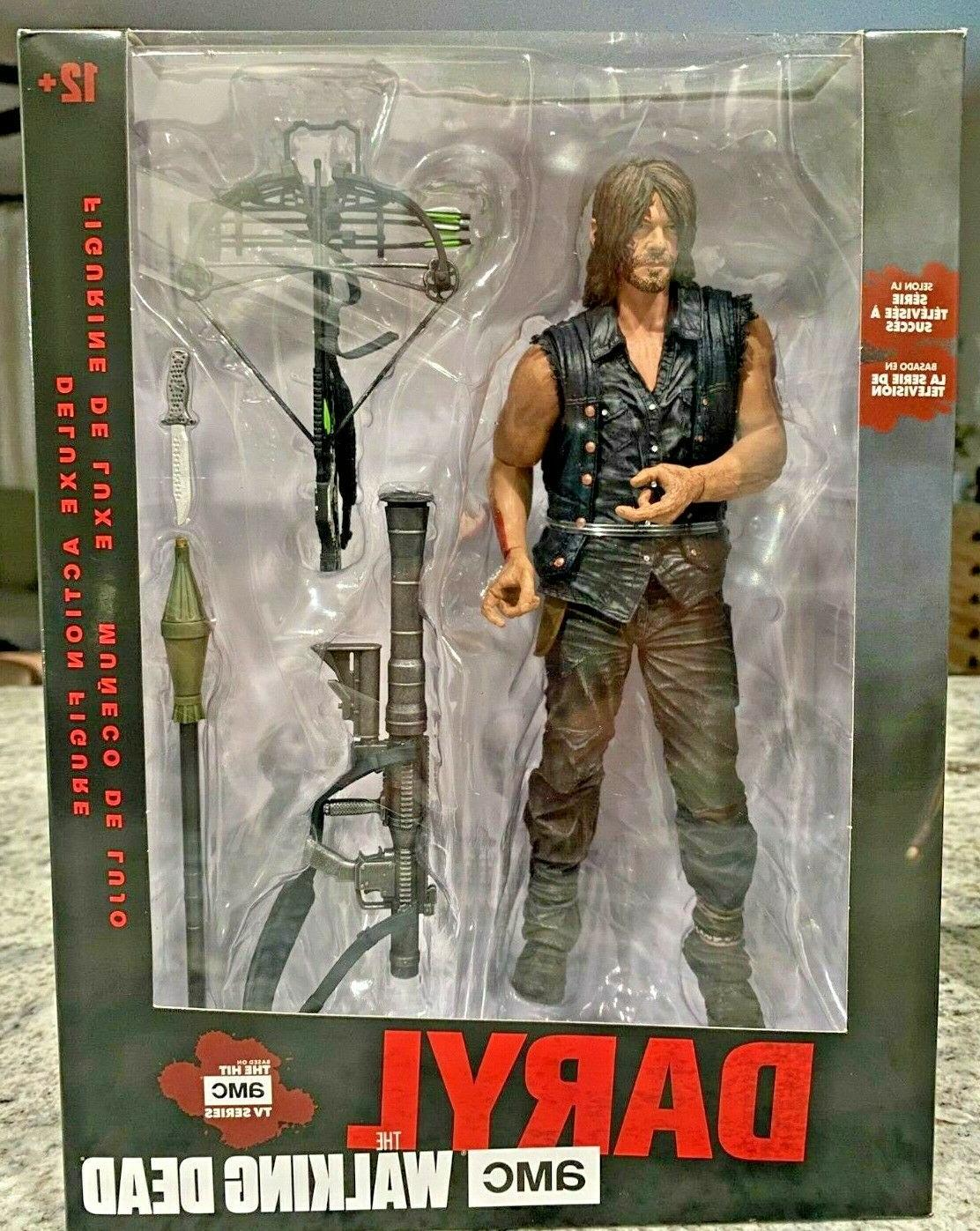 walking dead daryl with rocket launcher deluxe