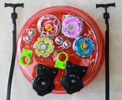 Light Up Metal Master Fusion Rapidity Fight Beyblade Battle