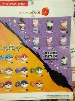 MCDONALD'S 2019 POKEMON  #  3,4,7,8  LAUNCHER AND DISC ONLY