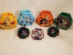 McDONALD'S Happy Meal Toys 2020 Beyblade Burst Lot of 4 Laun