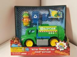 NEW Ryan's World GUS Action FIGURE & Recycle TRUCK Vehicle D