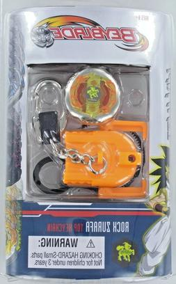 Orange BeyBlade Rock Zurafa Top Keychain- 1pc