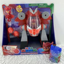 """PJ MASKS """"OWLETTE TURBO MOVER"""" FEATHER LAUNCHERS BY JUSY PLA"""