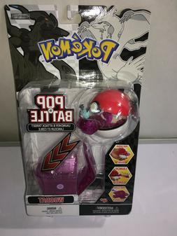 Pokemon  WOOBAT Toy POP-N-BATTLE Launcher Attack Target Jakk