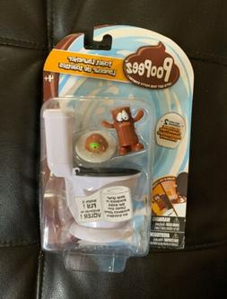 Poopeez Series 1 Toilet Launcher Playset Squishy Collectible