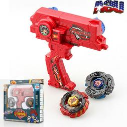 Rare 4D Launcher Kids Grip Beyblade Set Metal Master Fusion