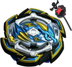 Rock Dragon BLACK Burst GT Beyblade STARTER SET w/ Launcher
