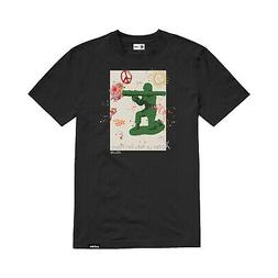 Etnies Skateboard Shirt Flower Launcher Black