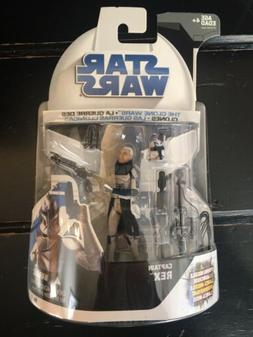 Star Wars The Clone Wars Captain Rex Tri-Logo Carded by Hasb