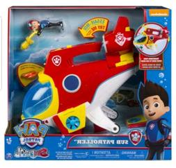 PAW Patrol Sub Patroller Transforming Vehicle with Lights So