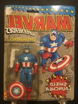 Marvel Superheroes Captain America With Shield Launcher