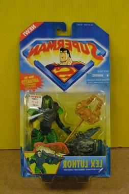 Kenner Superman Lex Luthor Figure with Kryptonite Armor and