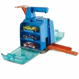 Track Builder Display Launcher Kids Toys Play Vehicles Cars