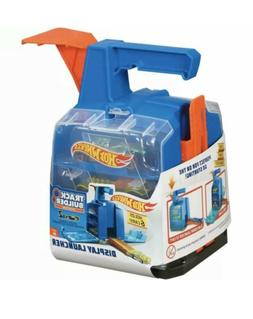 Hot Wheels Track Builders System - Display Launcher with 2 C