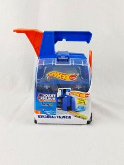 Hot Wheels Track Builders Systems Display Launcher with 2 Ca