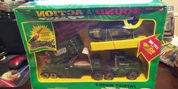 VINTAGE REMCO U.S,ARMY PATROIT MISSILE TRUCK & TANK LAUNCHER