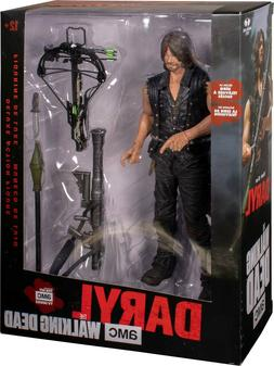 WALKING DEAD - Daryl with Rocket Launcher Deluxe Boxed Actio